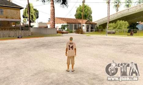 Varios Los Aztecas Gang Skin pack für GTA San Andreas sechsten Screenshot