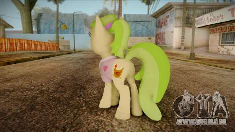 Peachbottom from My Little Pony für GTA San Andreas zweiten Screenshot