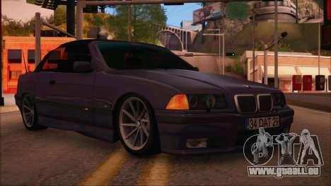 BMW M3 E36 Cabrio 34 DAT 29 pour GTA San Andreas
