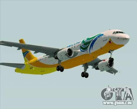 Airbus A320-200 Cebu Pacific Air pour GTA San Andreas vue de droite