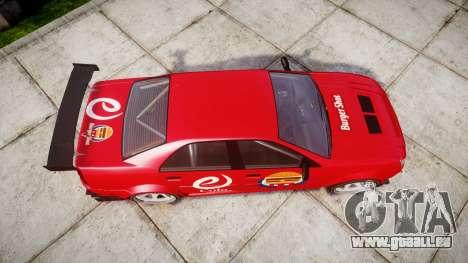 Albany Presidente Racer [retexture] eCola für GTA 4 rechte Ansicht