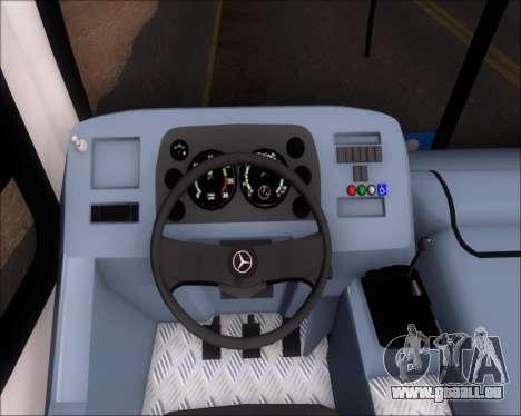 Marcopolo Torino G7 2007 VEGA Manaus 1011049 pour GTA San Andreas vue arrière