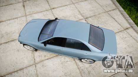 Benefactor Schafter Gen. 1 Grey Series für GTA 4 rechte Ansicht