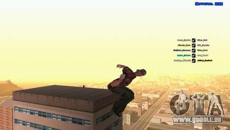 ped.ifp par Pavel_Grand pour GTA San Andreas cinquième écran