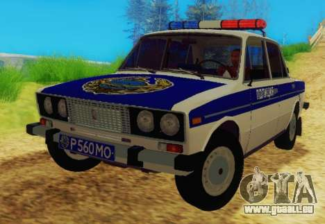 VAZ-2106 Police pour GTA San Andreas