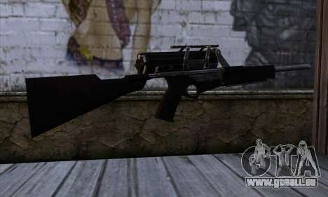 Calico M951S from Warface v2 für GTA San Andreas zweiten Screenshot