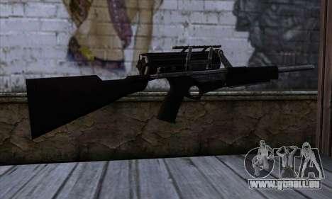 Calico M951S from Warface v2 pour GTA San Andreas deuxième écran