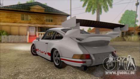 Porsche 911 Carrera 1973 Tunable KIT C für GTA San Andreas linke Ansicht