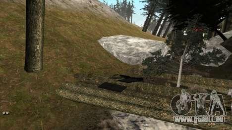 Трасса Offroad v1.1 par Rappar313 pour GTA San Andreas quatrième écran