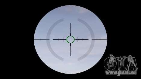 Machine P416 ACOG PJ1 cible pour GTA 4 troisième écran