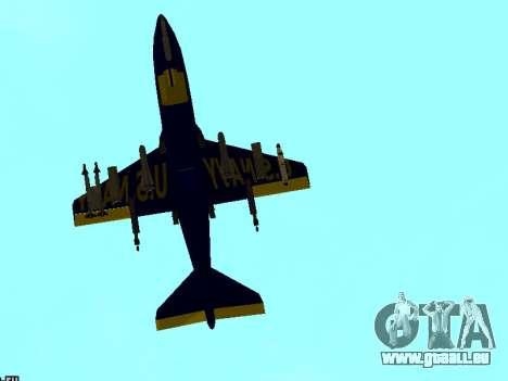 BlueAngels Hydra pour GTA San Andreas vue de droite