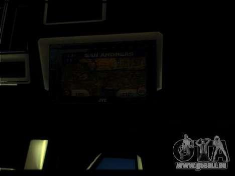 Nouveau Picador pour GTA San Andreas vue de dessus