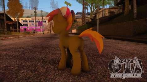 Button Mash from My Little Pony pour GTA San Andreas deuxième écran