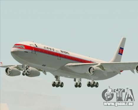 Airbus A340-300 Air Koryo pour GTA San Andreas
