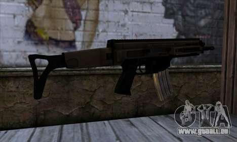 CZ805 из Battlefield 4 für GTA San Andreas zweiten Screenshot