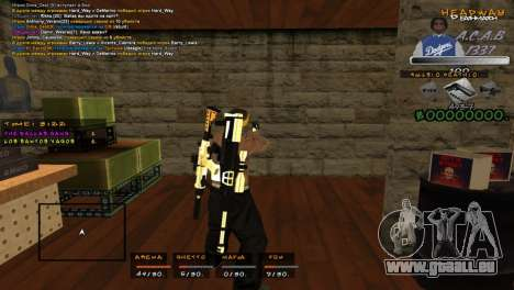 C- HUD A.C.A.B für GTA San Andreas zweiten Screenshot