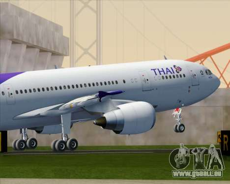Airbus A300-600 Thai Airways International für GTA San Andreas Innen