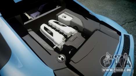 Audi R8 V10 Plus 2013 Vossen VVS CV3 für GTA 4 Seitenansicht