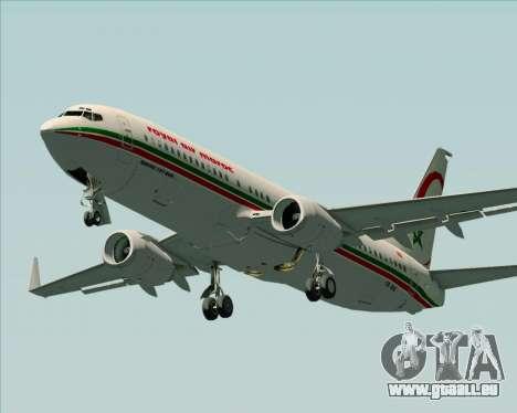 Boeing 737-8B6 Royal Air Maroc (RAM) für GTA San Andreas Motor