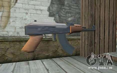 AK-47, Ohne den Hintern für GTA San Andreas zweiten Screenshot