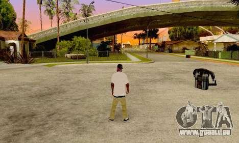 The Ballas Gang Skin Pack pour GTA San Andreas deuxième écran