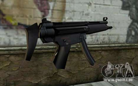 Retextured MP5 für GTA San Andreas zweiten Screenshot