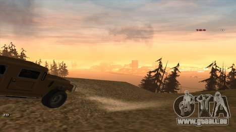 Трасса Offroad v1.1 par Rappar313 pour GTA San Andreas
