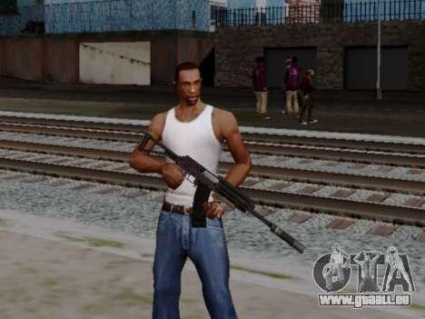Heavy Shotgun GTA 5 (1.17 update) pour GTA San Andreas deuxième écran