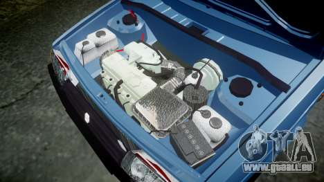 AIDE-Lada 2109 1500i pour GTA 4 est une vue de l'intérieur