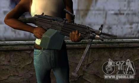 M249 v1 pour GTA San Andreas troisième écran