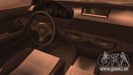 GTA 5 Ubermacht Sport IVF pour GTA San Andreas sur la vue arrière gauche