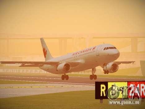 Airbus A320-214 Air Canada pour GTA San Andreas
