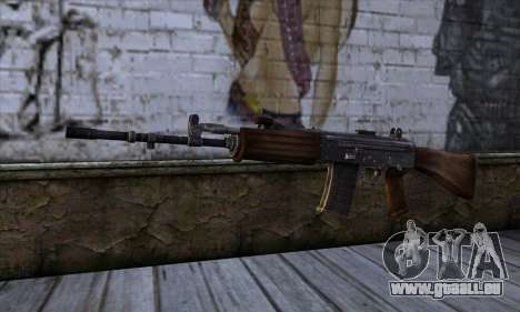 IOFB INSAS from Sniper Ghost Warrior 2 für GTA San Andreas