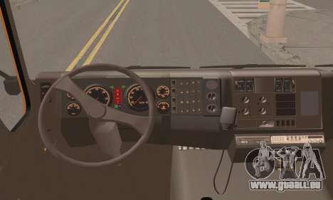Roman Garbage pour GTA San Andreas sur la vue arrière gauche