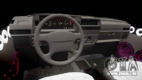 VAZ-2109 Neun für GTA 4 Innenansicht