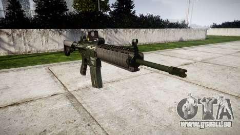 Machine M4A1 pour GTA 4