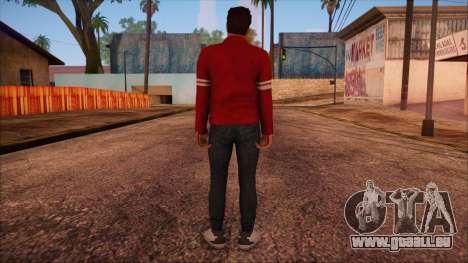 GTA 5 Online Skin 13 pour GTA San Andreas deuxième écran