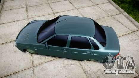 ВАЗ-Lada 2170 Priora emboutissage pour GTA 4 est un droit