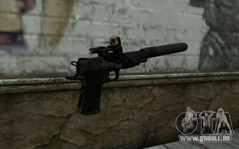 New  Silenced für GTA San Andreas zweiten Screenshot