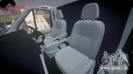 Ford Transit 2011 SuperSportVan für GTA 4 Innenansicht