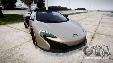 McLaren 650S Spider 2014 [EPM] v2.0 für GTA 4