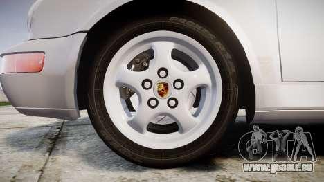 Porsche 911 (964) Coupe Razval für GTA 4 Rückansicht