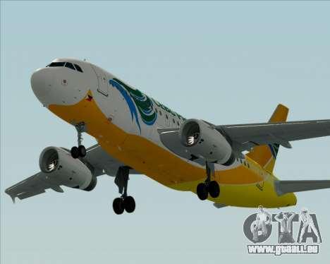 Airbus A319-100 Cebu Pacific Air für GTA San Andreas Seitenansicht