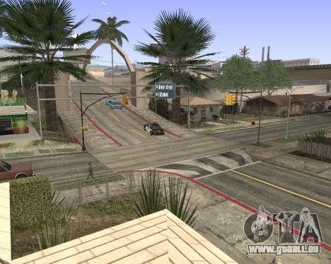 Textur Los Santos von GTA 5 für GTA San Andreas zweiten Screenshot