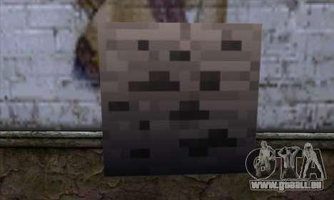 Block (Minecraft) v3 für GTA San Andreas