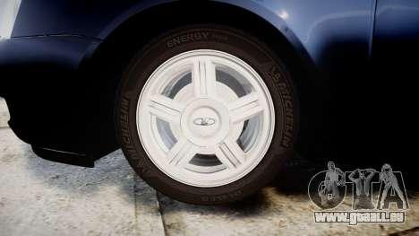 ВАЗ-Lada Priora 2170 Lager für GTA 4 Rückansicht