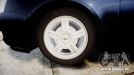 ВАЗ-2170 Lada Priora stock pour GTA 4 Vue arrière