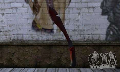 Bloody Machete from Far Cry für GTA San Andreas