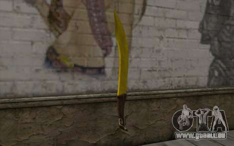 Goldene Messer für GTA San Andreas zweiten Screenshot
