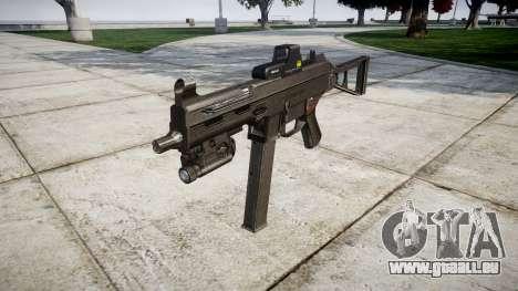 Allemand pistolet mitrailleur HK UMP 45 cible pour GTA 4